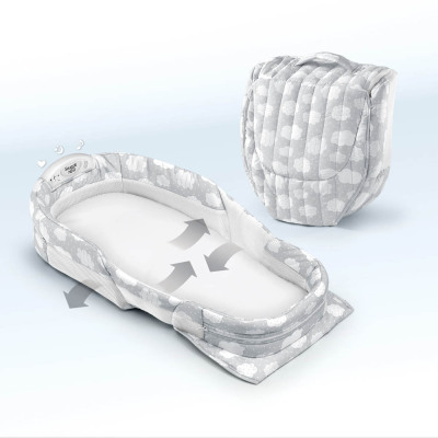 Baby bed bed baby BB small bed sleeping basket travel multifunctional portable folding bed