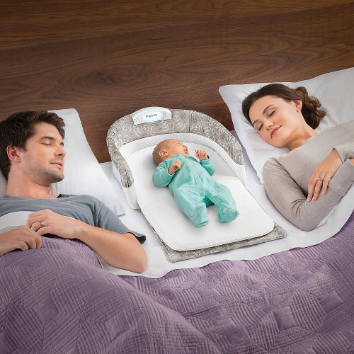 Wholesale baby portable separated bed with light music, extended version of the baby to appease the bed