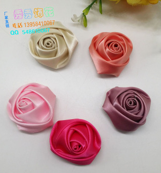 Direct manufacturers DIY manual stereo Rose Wedding Crafts accessories clothing headwear bag