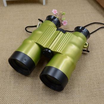 Crystal light manufacturer 6x36mm children's binoculars binoculars red, blue and green tricolor.