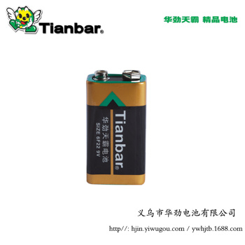 9V environmental protection carbon remote control battery