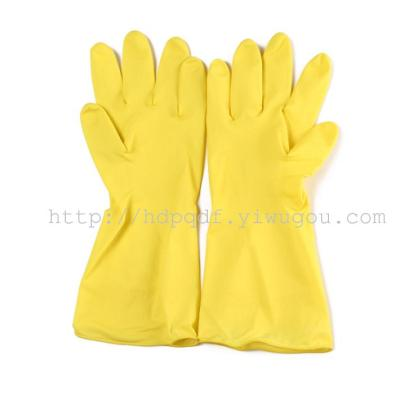 40G gloves, latex gloves gloves for cleaning household dishwashing gloves rubber anti-skid protective gloves