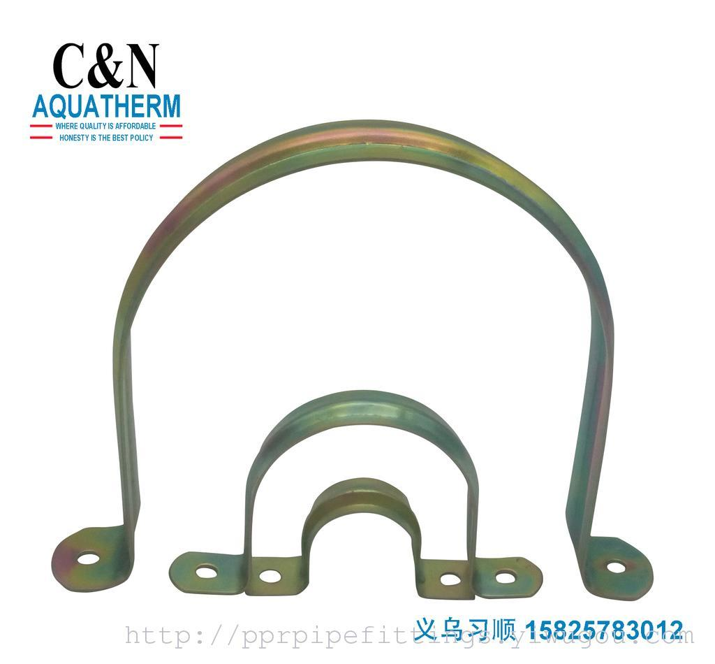 Supply Galvanized Pipe Hoop Type U Card Hoop Hoop Clamp Clamp