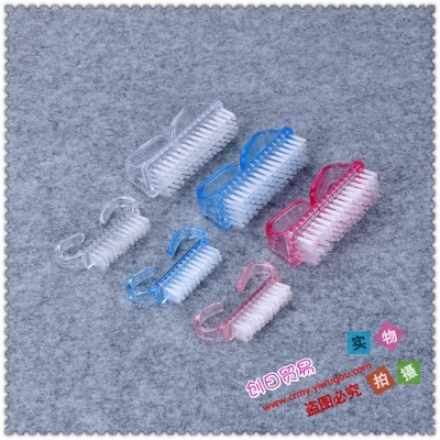 The cleaning brush youshua nails manicure slot brush cleaning tool Mao Shuazi
