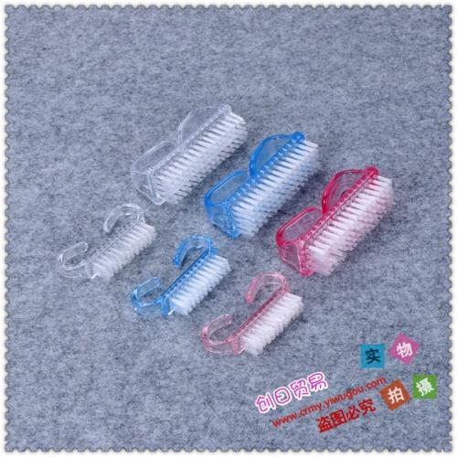 The cleaning brush youshua nails manicure slot brush cleaning tool Mao Shuazi