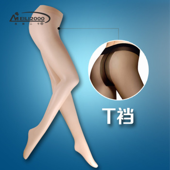 Sexy T file type toe invisible Tights Pantyhose thin silk stockings wholesale Yiwu contact
