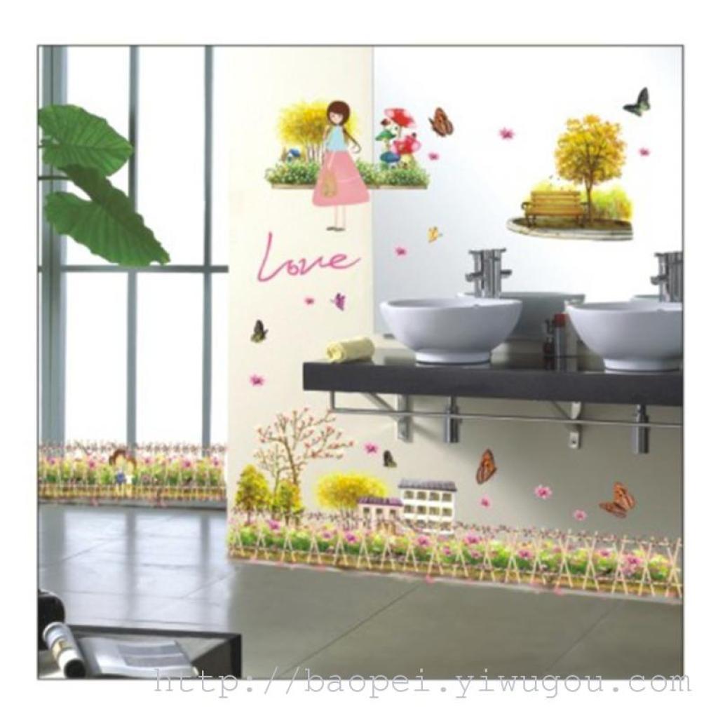 Adesivo decorazione camera da letto soggiorno parete adesivi murali rimovibili a parete strati adesivi di decorazione di glassa incolla