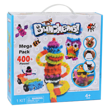 DIY selling children's educational toys ball ball color mop squeezed squeezed plastic Maomao ball