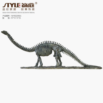 American retro personality trend dinosaur fossil decoration crafts