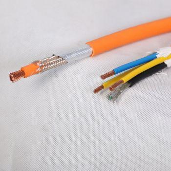 充电桩电缆新能源电动汽车车内屏蔽电缆单芯35mm