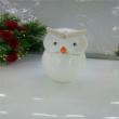 The owl animal ornaments, craft gifts, ceramic owl two piece