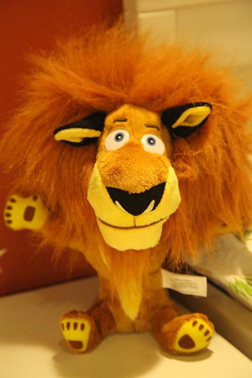 微信萌狮子头像