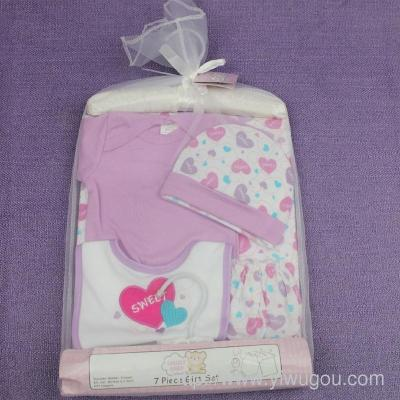 The newborn baby clothes cotton Gift Set