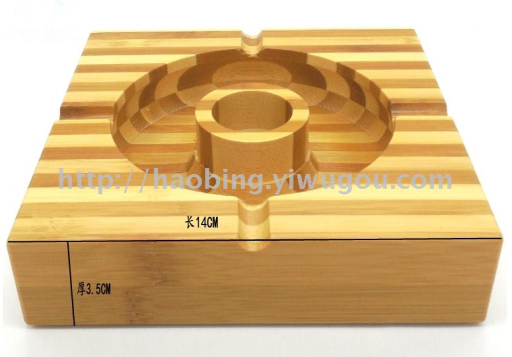 烟缸原木奇木实木时尚创意木质烟灰缸木头木制大号杉木特价