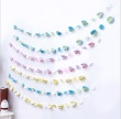 Festive decorations 3D string flag stereo ceiling ornaments ornaments birthday party dress wholesale
