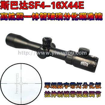 SF4-16X44E高清抗震玻璃分化板瞄准镜