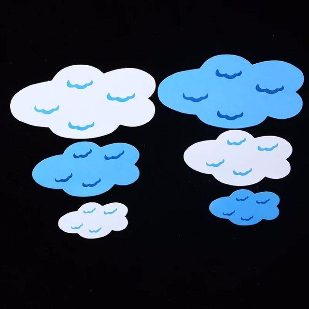 幼儿园用品*幼儿园墙面装饰品 泡沫太阳彩虹云朵 多色蓝天白云_ 盛智文具_ 义乌国际商贸城三区_义乌购