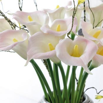 The simulation of Calla Calla flower PU medium simulation flower wholesale flower sensual Calla