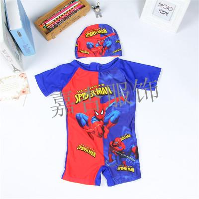 Children's swimwear Gucci children's swimwear boy baby boy warm dry hot sun Siamese swimsuit