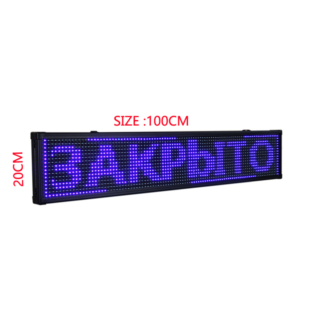 supply led displays changong panel 100 20cm size can be customized. Black Bedroom Furniture Sets. Home Design Ideas