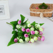 Simulation of plastic manufacturers selling handmade silk flowers snow bud King Mini potted plant living room decoration