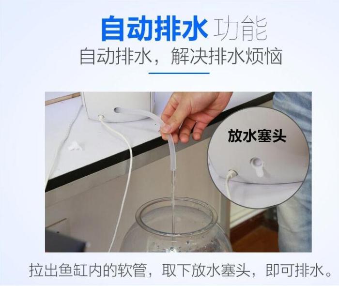 supply apple led mini filter goldfish acrylic plastic aquarium