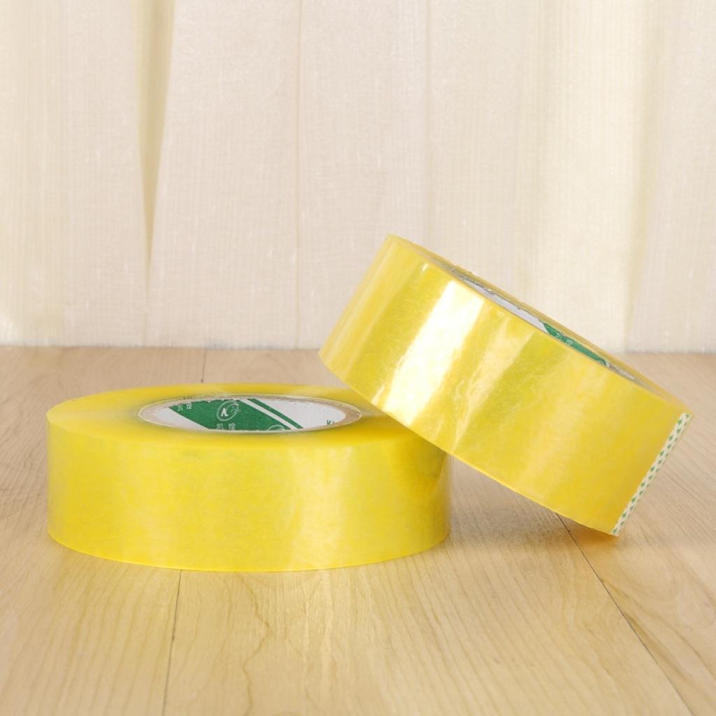 透明大胶布胶纸胶条封箱胶带快递打包胶带