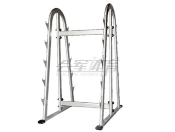 In the barbell gym training equipment