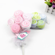 Baby small towel towel 12 pack with lollipop slobber