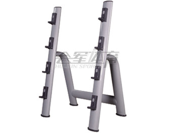 In the bar frame display professional gym barbell