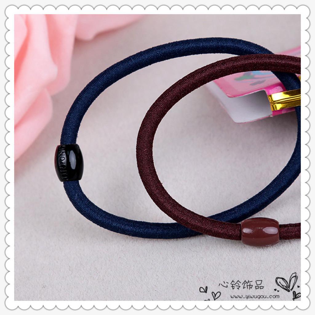 扎头发橡皮筋饰品发圈发绳头绳发带