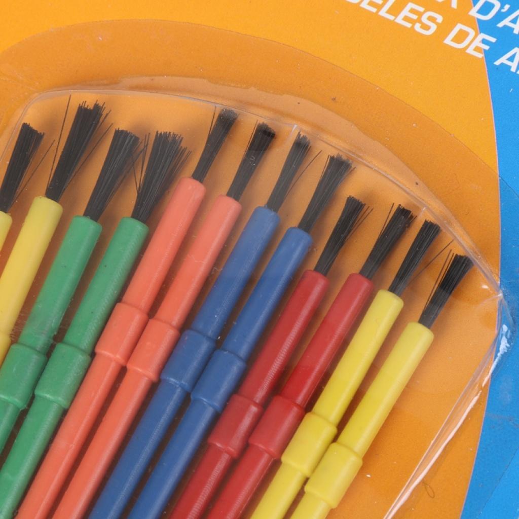 幼儿园美术工具刷子水粉水彩底刷笔刷画画涂鸦涂色