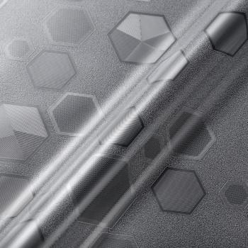 六边形2d磨砂静电玻璃贴膜窗花纸窗户贴纸