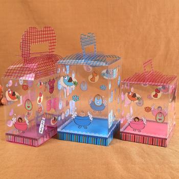 Box manufacturers custom PVC plush toys PVC packaging handbags plush toys