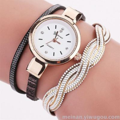 Europe and the United States selling luxury fashion chain bracelet alloy diamond watches female quartz watch