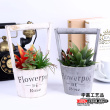 American country creative plant simulation mobile Home Furnishing simulation Flower Bonsai decorative ornaments