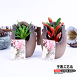 Soil pot plant simulation creative ornaments classic canned aloe flowers collocation Home Furnishing Hotel