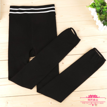 Manufacturers selling winter bamboo charcoal cotton pants warm yoga pants body with velvet Leggings