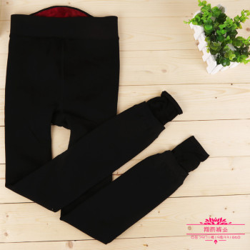 Manufacturers selling winter waist super soft nylon pants warm pants with one velvet Leggings