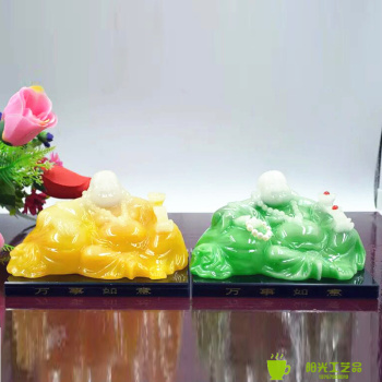The marriage arranged in resin crafts decoration supplies automobile decoration office Home Furnishing Buddha