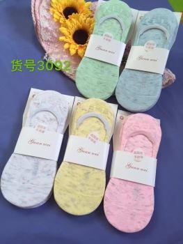 Men and women socks folk style low shallow mouth socks socks socks retro stealth short summer sports socks
