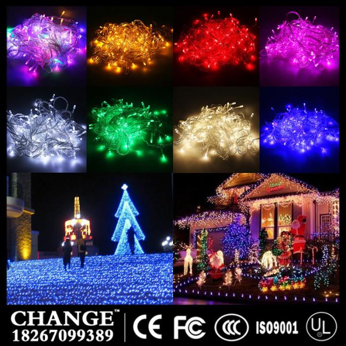 Supply Led Twinkle light string light christmas light factory-
