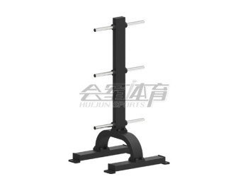 In the barbell rack gym professional training equipment