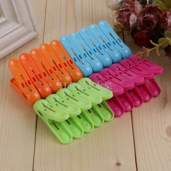 The strong wind plastic small clip pantyhose clip plastic clip clothespin