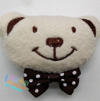 Direct manufacturers DIY embroidered bear wear leggings scarf jewelry accessories wholesale