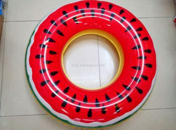 Inflatable toys, water supplies, fruit swimming rings, watermelon rings
