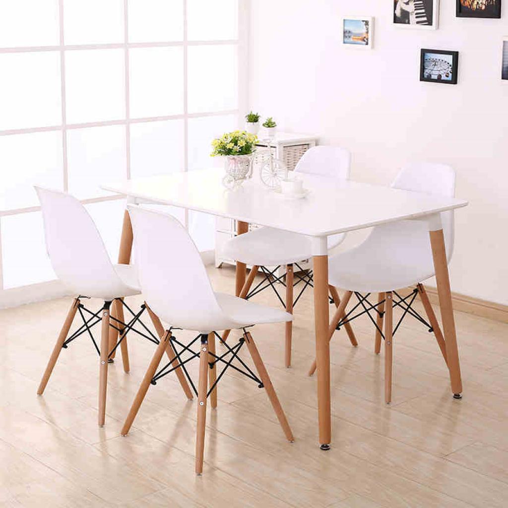 伊姆斯简约咖啡桌椅/办公会议桌椅/餐桌椅/酒店桌椅