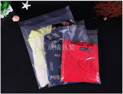 PE self-adhesive self-adhesive plastic bag size can be selected double wire 10