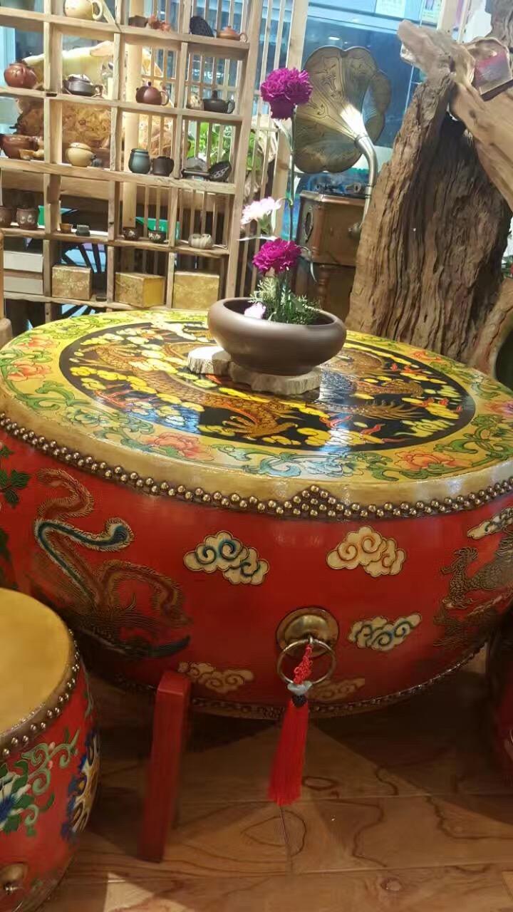 禅意家具 新中式香樟木原木功夫茶桌椅组合 创意流水茶台