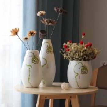 Ceramic decoration crafts ceramic vase mistress set